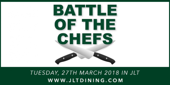 March 2018: JLT Battle of the Chefs – Pizza Edition